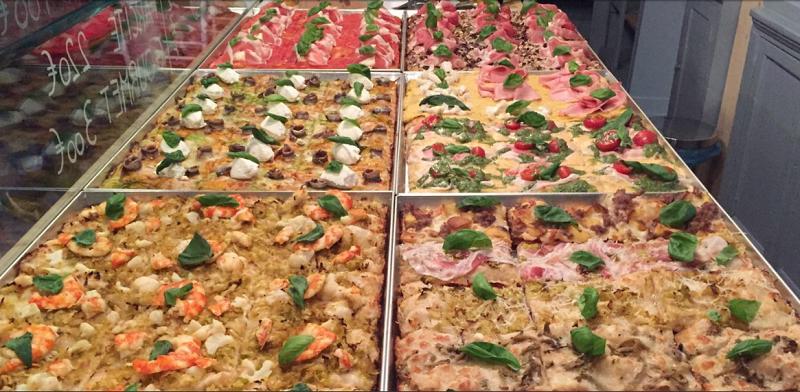 5 ristoranti: Mozzabella