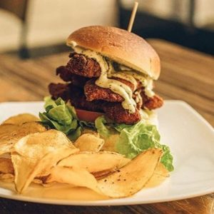 Fried Chicken Burger - BurBaCa Matera