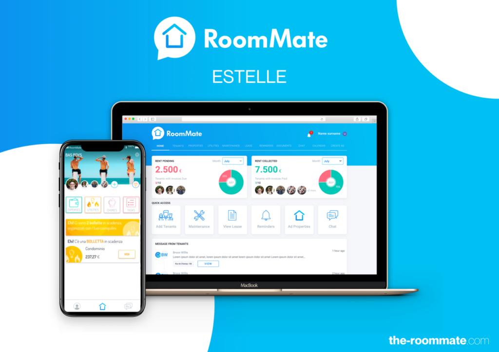 RoomMate Estelle: gestionale per inquilini